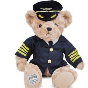 Peluche – Captain Pilot Teddy Bear