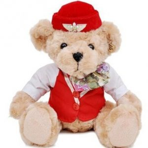 Peluche – Stewardess Teddy Bear