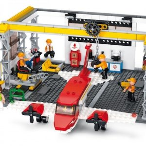 Sluban Toy Airport Hangar 599 piece (Sluban M38-B0372)