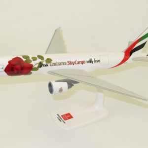 "Boeing 777-200F Emirates SkyCargo ""Valentine Rose"" A6-EFL (PPC 221423)"