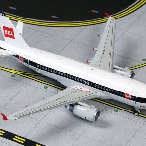 Airbus A319 British Airways Retro BEA Livery G-EUPJ (Gemini Jets GJBAW1859)