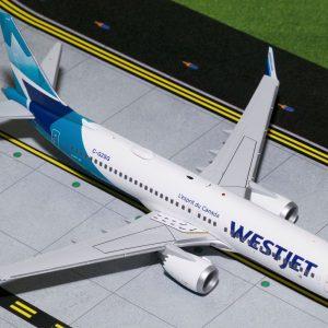 B737-8MAX (Westjet) C-GZSG (Gemini Jets G2WJA783)