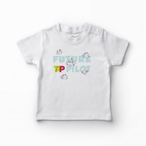 T-shirt Future TAP Pilot – Azul
