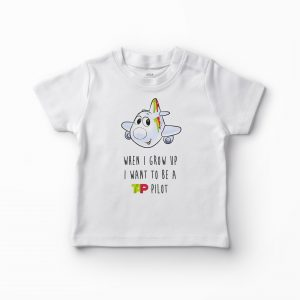 T-shirt When | Grow Up – Avião – 4 / 5 anos