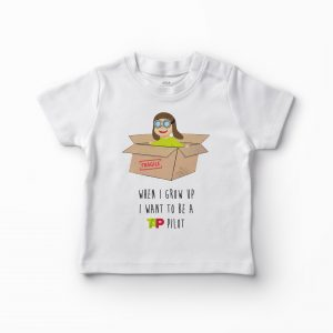 T-shirt When I Grow Up – Pilot