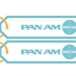 Porta-chaves Pan Am