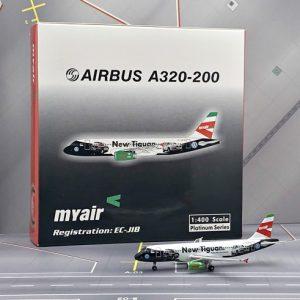 """A320 (My Air """"Volkswagen"""") EC-JIB (Phoenix-models 10230)"""