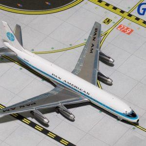 "DC8-32 (Pan American ""Jet Clipper Great Republic"") N809PA (Gemini Jets GJPAA1337)"