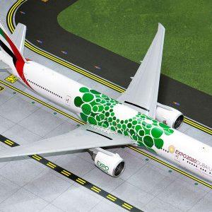 "B777-300ER (Emirates ""Green EXPO 2020"") A6-EPU (Gemini Jets G2UAE799)"