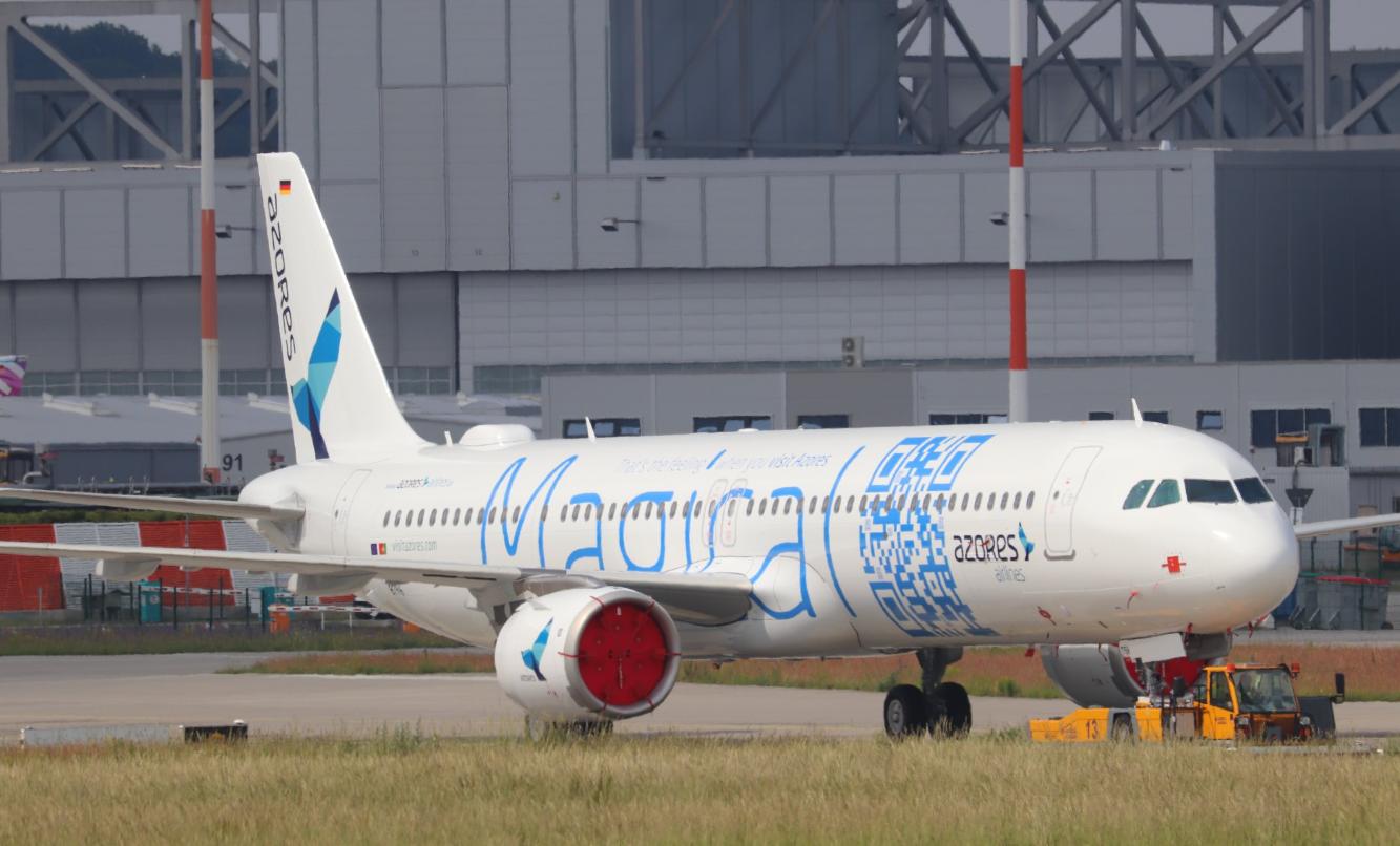 Resultado de imagen para Azores Airlines Airbus A321neo lr