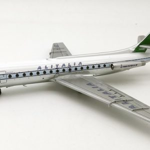 Caravelle SE210 (Alitalia) I-DABZ With Stand polished (Inflight 200 IF210AZ0319P)