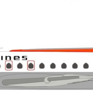 Caravelle SE210 (Indian Airlines) VT-DVJ With Stand (Inflight 200 IF210IC0219)