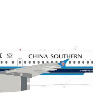 A319-132 (China Southern Airlines) B-6207 With Stand (Inflight 200 IF319CZ001)