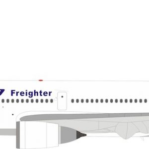 MD10-10 / DC10-10 (Boeing / McDonnell Douglas) N386FE With Stand (Inflight 200 IFMD10-01)