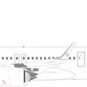 A321neo (Lufthansa) D-AZAM With Stand (J Fox Models JF-A321-002)