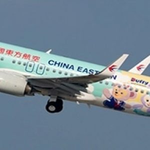 """B737-800 (China Eastern Airlines """"Duffy Livery"""") B-1316 With Stand (JC Wings EW2738003)"""
