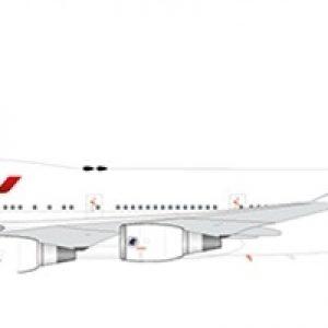 """B747-400 (Air France """"Last Flight"""") F-GITJ """"Flap Down"""" With Stand (JC Wings XX2194A)"""