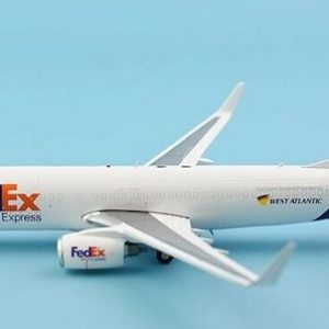 Boeing B737-800BCF FedEx / West Atlantic Airlines G-NPTD With Stand (JC Wings XX2271)