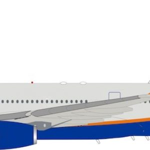 Airbus A330-300 Aeroflot VP-BDE With Stand (Inflight 200 IF333SU0719)