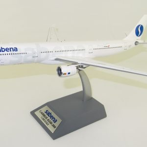 """Airbus A330-300 Sabena """"75 YEARS"""" Airbus A330-301 OO-SFO With Stand (Inflight 200 IF333SN1219)"""