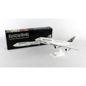 BOEING 747-400 IRON MAIDEN 1/200 WITH GEAR SKR899 – (FULLY LICENSED)