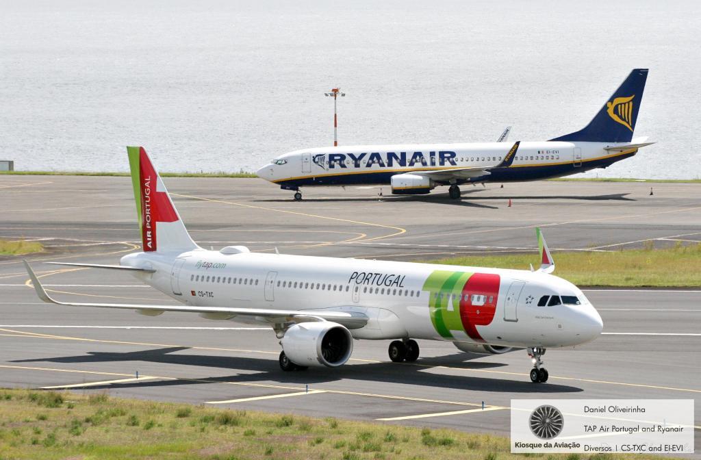 TAP Air Portugal and Ryanair
