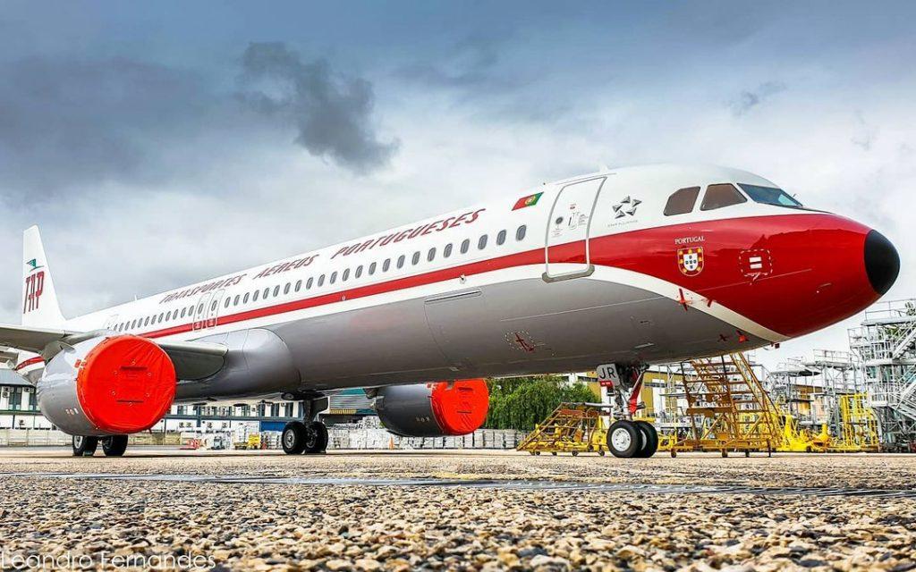 """A321neo """"Retro"""" da TAP deverá realizar no sábado o primeiro voo comercial"""