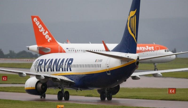 Ryanair vai ficar com mais de 300 slots da easyJet em Londres Stansted