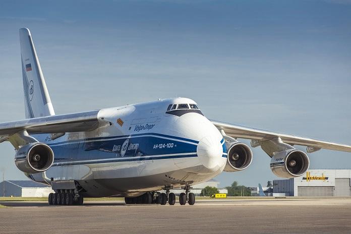 Grupo Volga-Dnepr suspende voos dos seus oito AN124