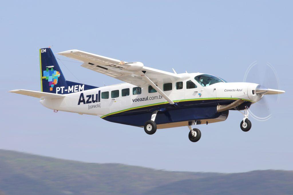 Guarapari recebe primeiro voo comercial da Azul Conecta