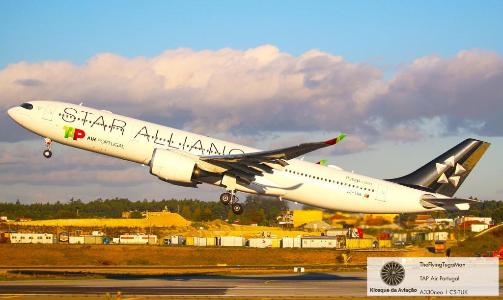 A330neo TAP Star Alliance