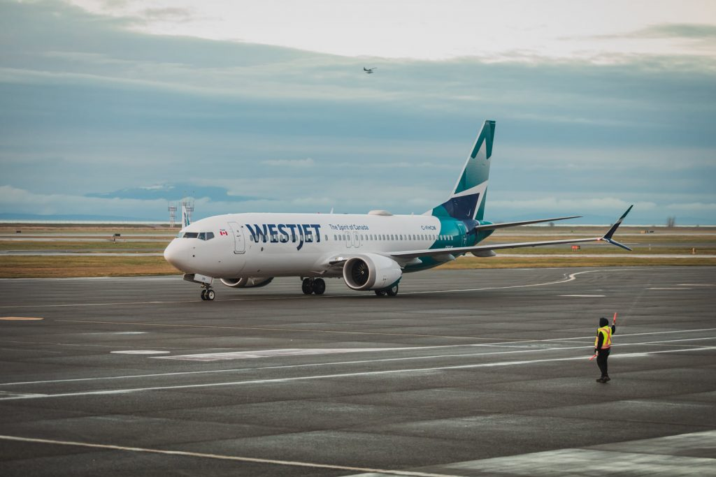 WestJet retomou voos com o Boeing 737MAX (com vídeo)