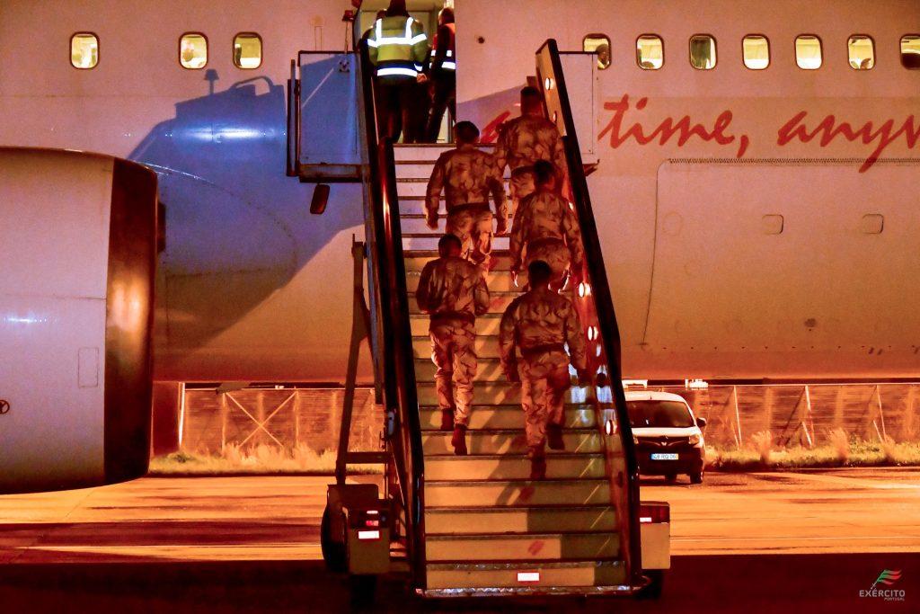 EuroAtlantic transporta uma vez mais militares portugueses