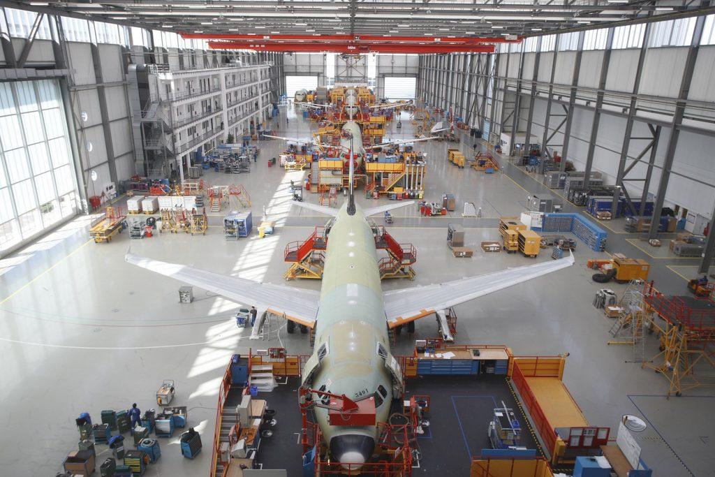 Airbus adapta o ritmo de produção ao contexto do mercado