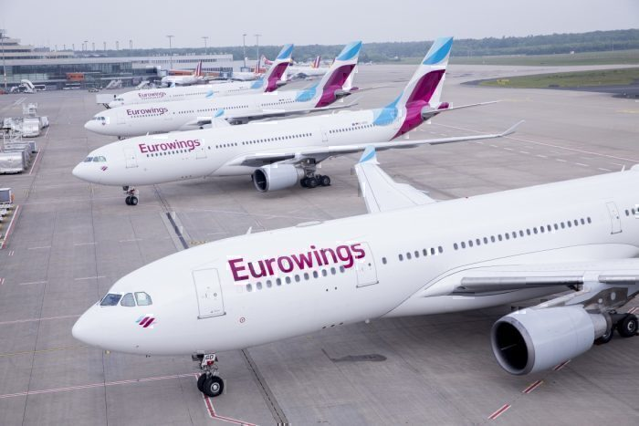 Eurowings Discover substitui Ocean, companhia de lazer e longo curso da Lufthansa