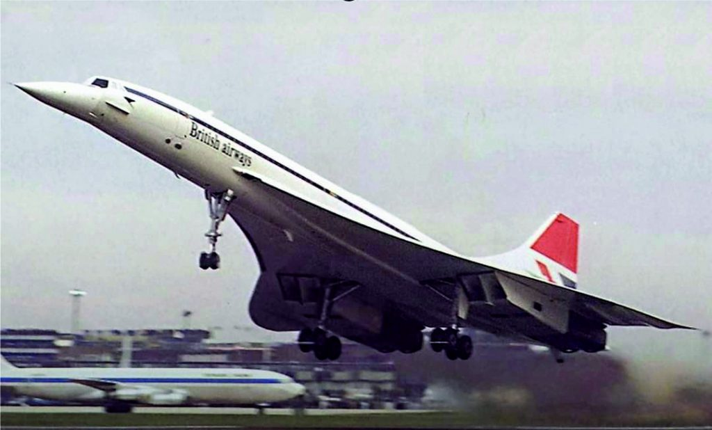 Primeiro voo comercial do Concorde completa 45 anos.