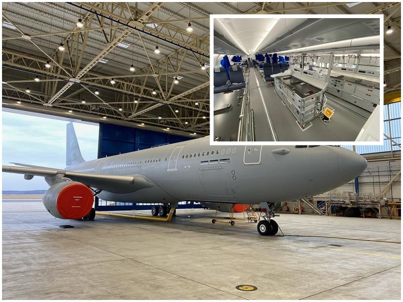 Depois do A310 MedEvac LUFTWAFFE converte A330 em MedEvac