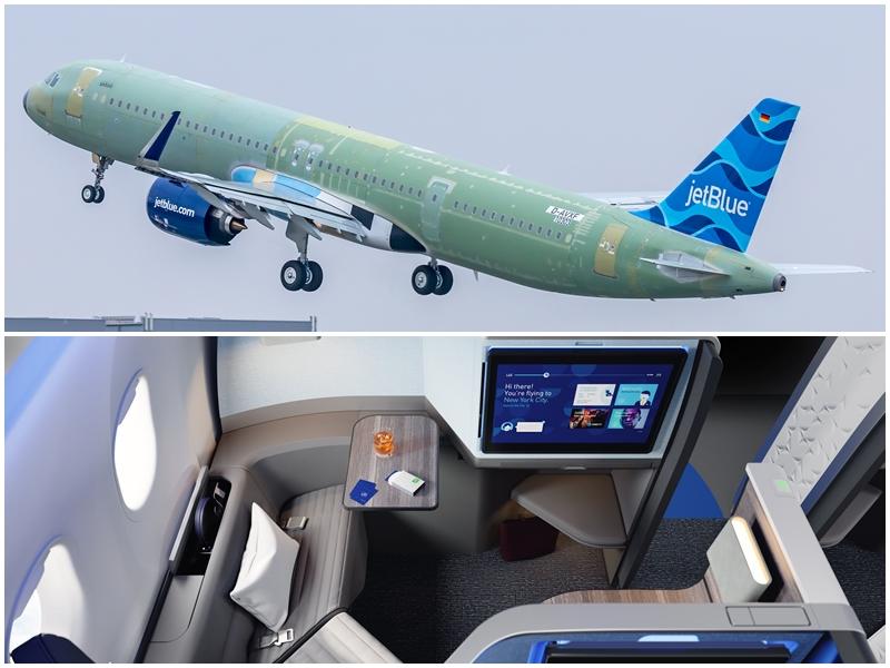 JetBlue apresenta cabine para o seu A321LR (com vídeo)