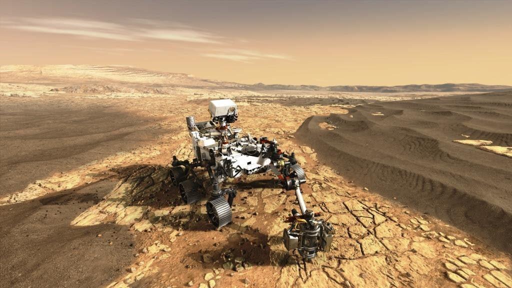 Chega a Marte a tecnologia espacial Airbus