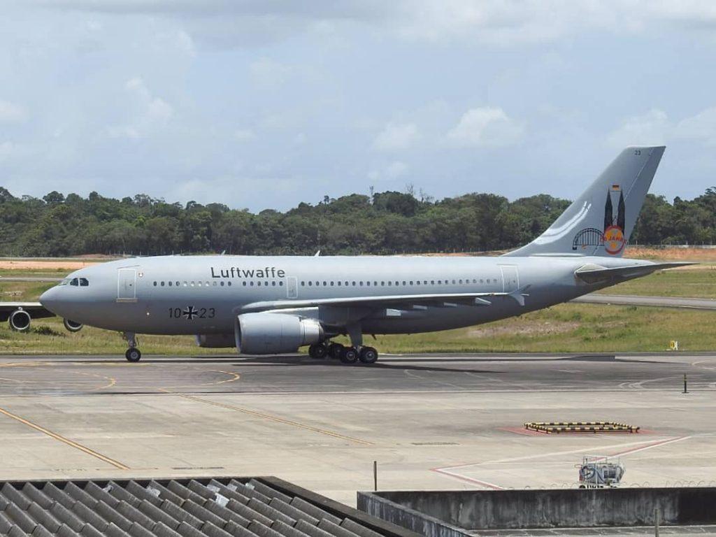 Alemanha envia para o Brasil A310 com 80 ventiladores