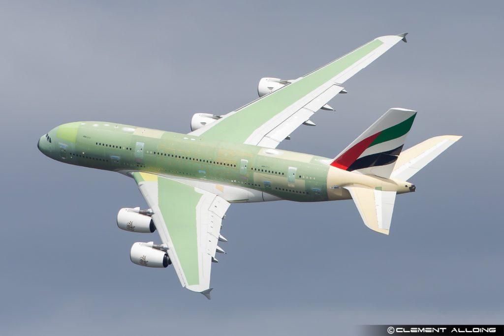 O último Airbus A380 realizou primeiro voo (com vídeo)