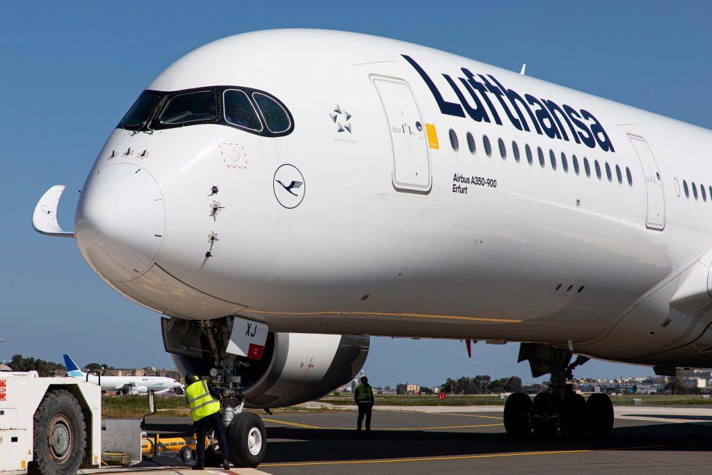 Lufthansa converte A350-900 em 'laboratório aéreo'