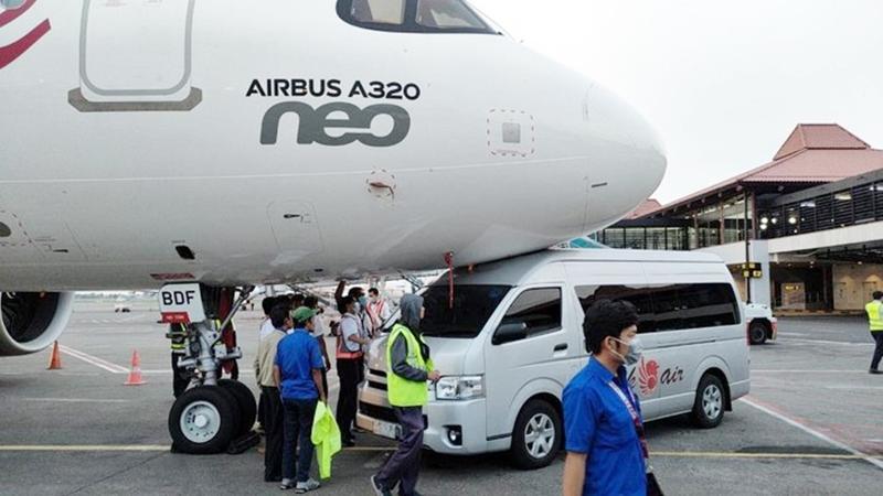 Incidente com A320neo da Batik Air