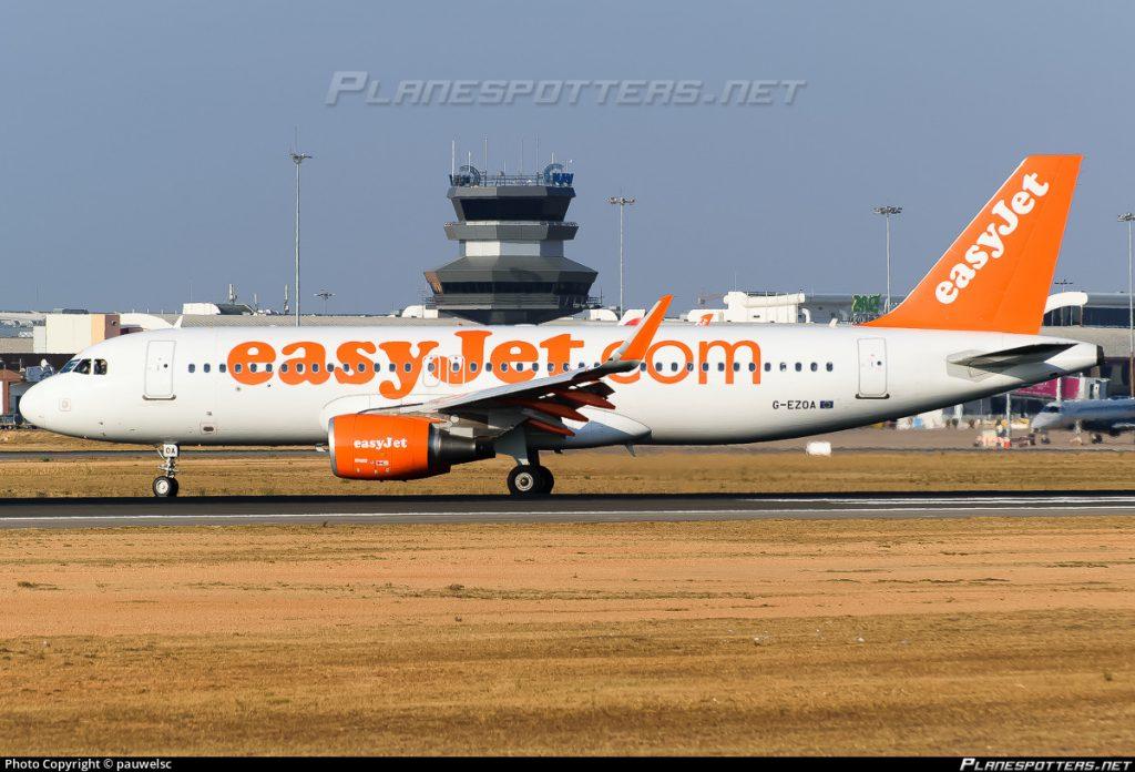 easyJet vai voar entre Faro e Birmingham este verão