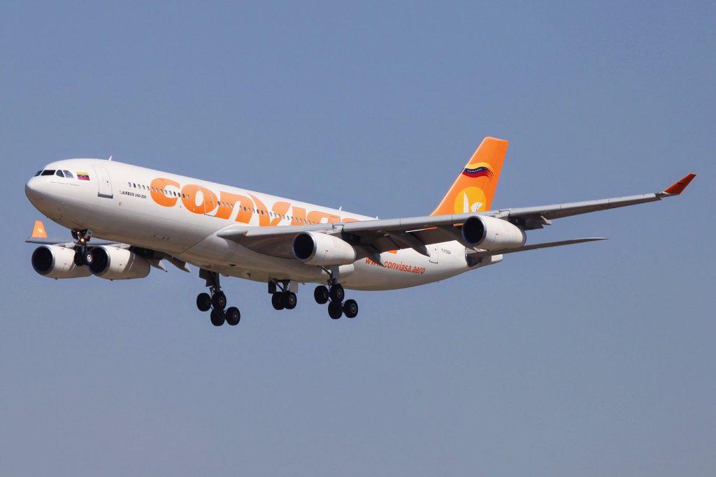 Conviasa iniciou os seus voos entre Caracas e Moscovo