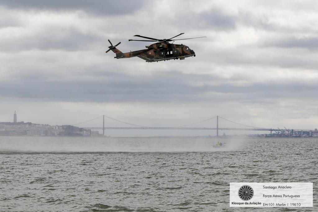 Força Aérea Portuguesa resgate jovem de 19 anos a bordo de navio (C/VÍDEO)