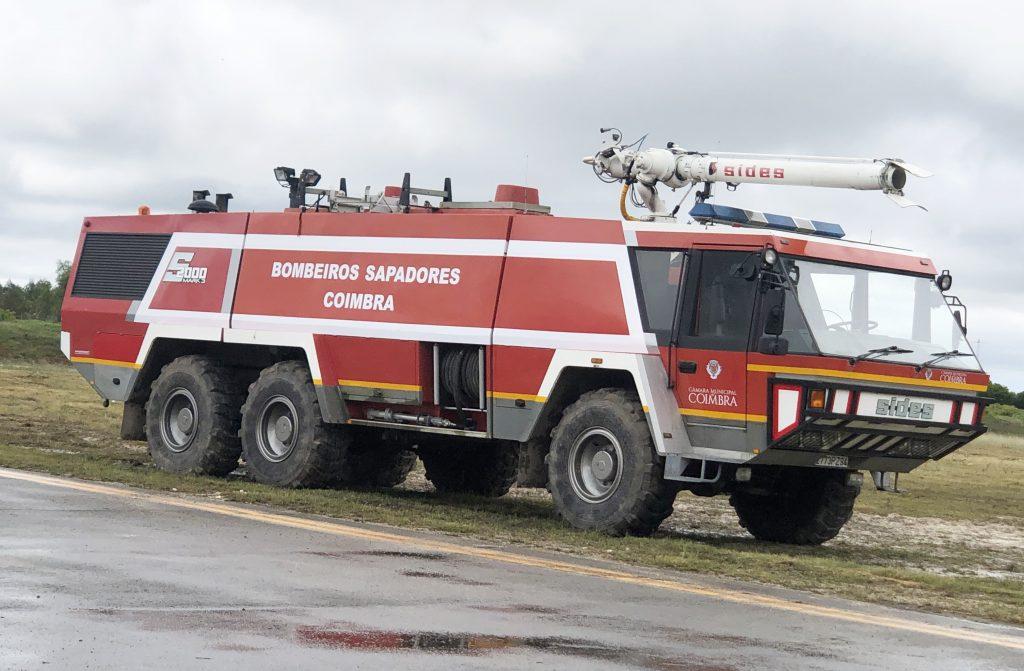 Aeródromo Municipal de Coimbra conta com novo carro de emergência
