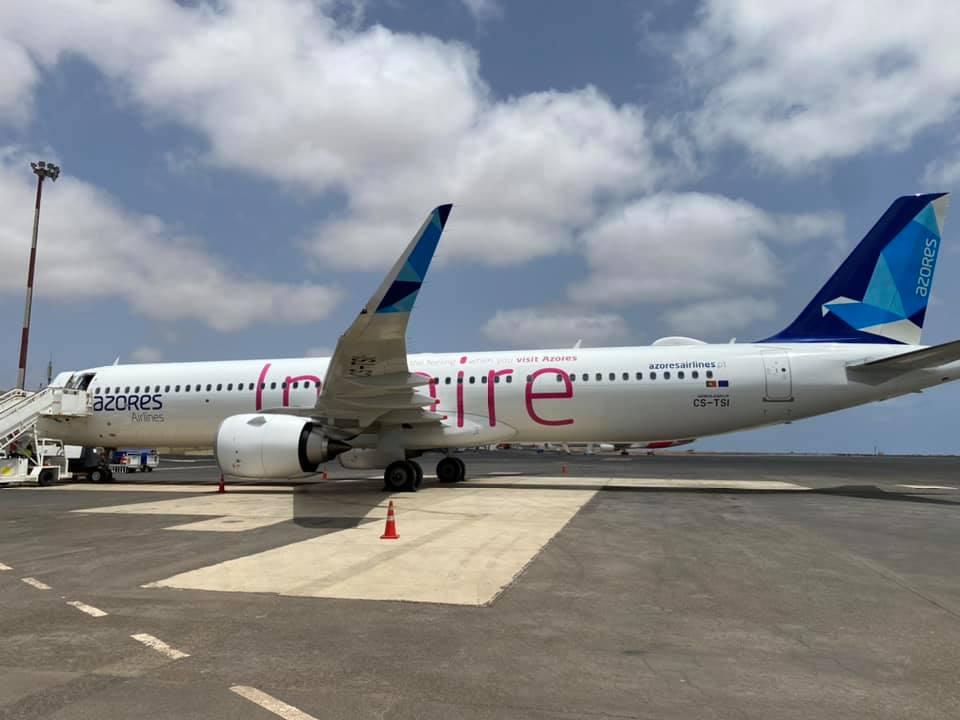 Já arrancou a operação charter da SATA Azores Airlines entre Lisboa e o Sal