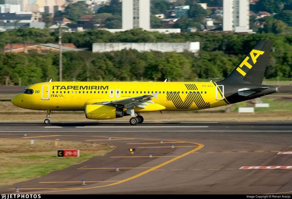 Itapemirim iniciou os seus voos comerciais