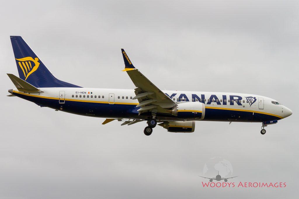 Ryanair recebe primeiro B737MAX ou B737 8-200